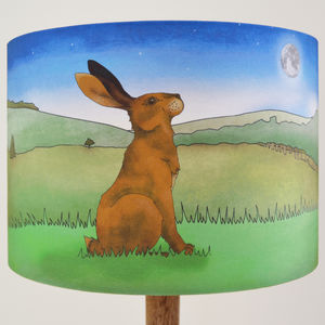 Hare Lampshade - children's lighting