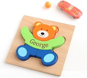 Personalised Teddy Puzzle - puzzles