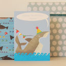 Personalised Bubble Shark Card
