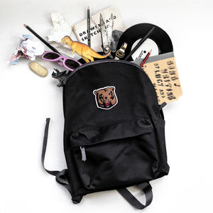 Grizzly Bear Backpack - men's accessories