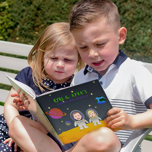 Personalised Space Adventure Story Book - books