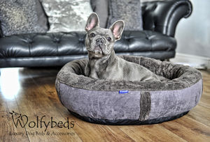 Wraparound Fleece Dog Bed Medium - dogs