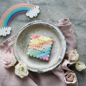 The Lady B Rainbow Biscuit Gift Box