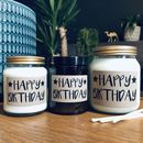 'Happy Birthday' Scented Natural Soy Candle