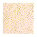 Pink And Gold Seeds Patterned Party Tableware Set