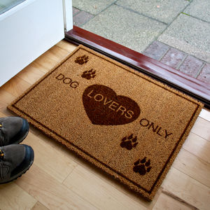 Dog Lovers Doormat - rugs & doormats