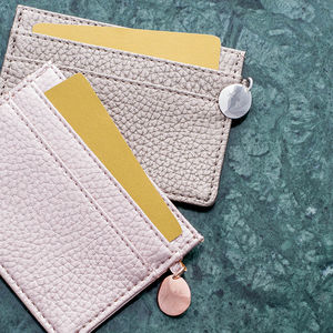 Personalised Metallic Card Holder - for sisters