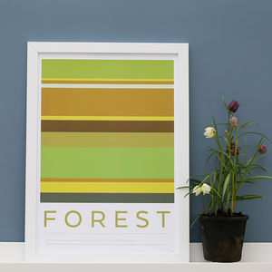 Forest Elemental Print