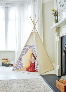Chevron Teepee Choice Of Colours Available - toys & games