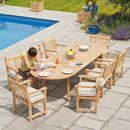 Roble Extending Garden Dining Table