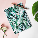 Metallic Girl Boss Paradise Palms A5 Notebook