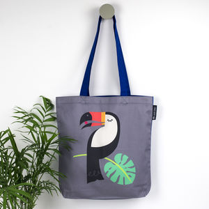 Tropical Toucan Bird Tote Bag
