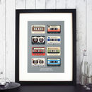 Personalised Memory Tapes Print