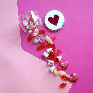 Sweet Heart Treat Box - edible favours