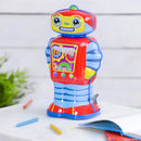 Cosmo The Wind Up Tin Robot