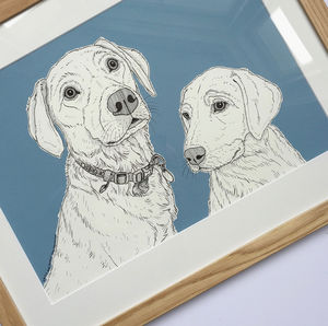 Bespoke Pet Portraits - art-lover