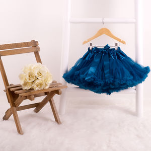 Teal Pettiskirt Tutu - children's skirts