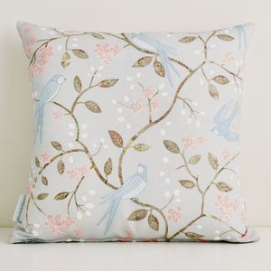 Swallows Cushion Large - bedroom