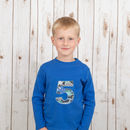 Personalised Birthday Dinosaur T Shirt