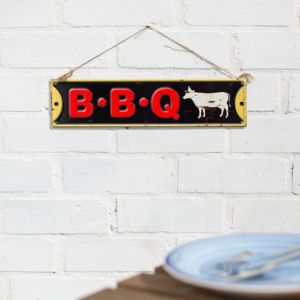 Bbq Wall Sign