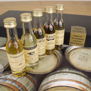 Father Of The Groom Whisky Gift Set - whiskey