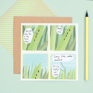 'Funny Nature' Greeting Card