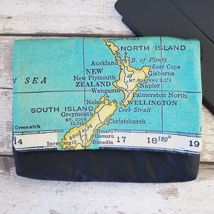 Personalised Map Print iPad Tablet Case