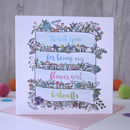 Flower Girl Thank You Card