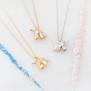 Personalised Unicorn Necklace - new in jewellery