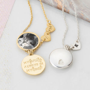 Personalised Family Locket