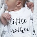 'Little Brother' Bodysuit