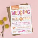 Charlie Wedding Invitation