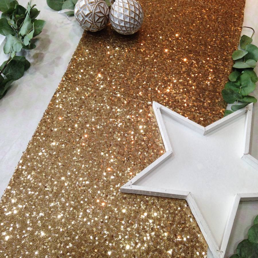 Sequin Table Runner By The Sweet Party Shop