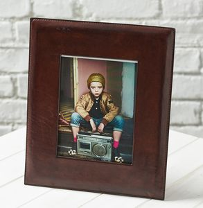 20% Off Leather Photo Frame Wide