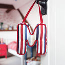 Personalised Hanging Letter Cushions