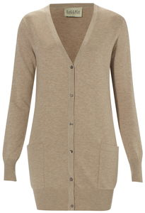 Covetable Cotton, Wool And Cashmere Cardigan - sale