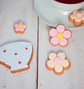 Tea Time Mini Biscuit Gift Box - biscuits and cookies