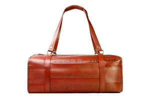 Reclaimed Fire Hose Overnight Bag - holdalls & weekend bags