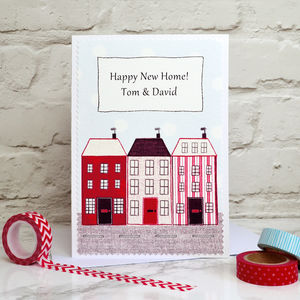 'New Home' Personalised Card