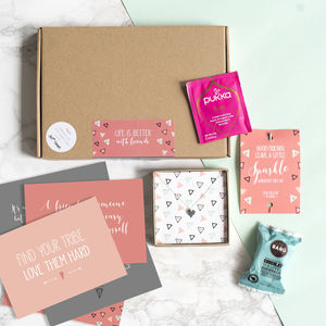 Personalised Friendship In A Box Gift Box - personalised