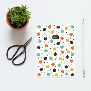 A5 Apple Notebook - notebooks & journals