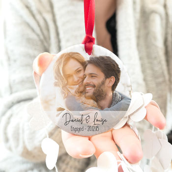 Engagement Photograph And Message Keepsake Gift