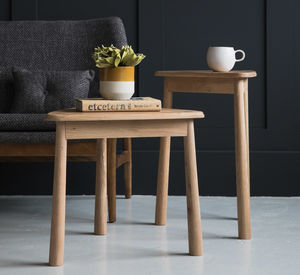 Nesting Nordic Side Tables - furniture