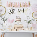 Pink And Gold Party Decoration Tassel Garland