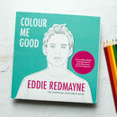 Eddie Redmayne Colouring Book