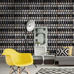 Moon Phases Wallpaper - home decorating
