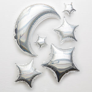 Moon And Stars Balloons