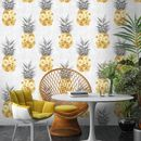 Pineapple Wallpaper By Woodchip And Magnolia