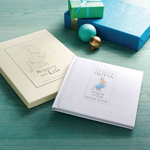 Personalised Tale Of Peter Rabbit Gift Boxed Book - christmas catalogue