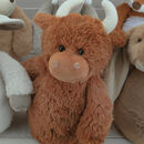 Highland Cow Door Stop Character
